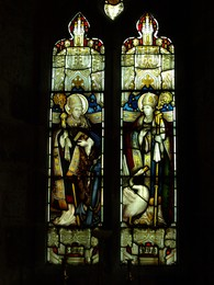 Stained Glass Window in North Wall